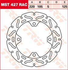 TRW MST disque fixe avec RAC design MST427RAC