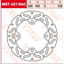 TRW MST vaste remschijf RAC design MST427RAC