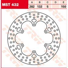 TRW MST disque de frein fixe MST432
