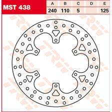 TRW MST vaste remschijf MST438