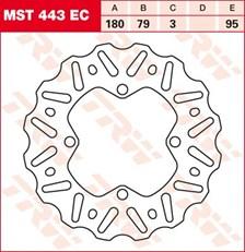 TRW EC disque de frein offroad MST443EC