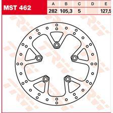 TRW MST disque de frein fixe MST462