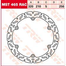 TRW MST vaste remschijf RAC design MST465RAC