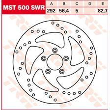 TRW MST disque de frein fixe MST500SWR