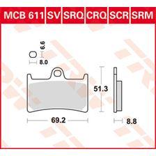 TRW SCR Remblokken MCB611SCR