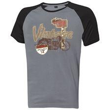 """HELD T-Shirt """"Vintage"""" Grijs-Zwart"""