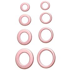BGS TECHNIC Assortiment rondelles cuivre - Metric