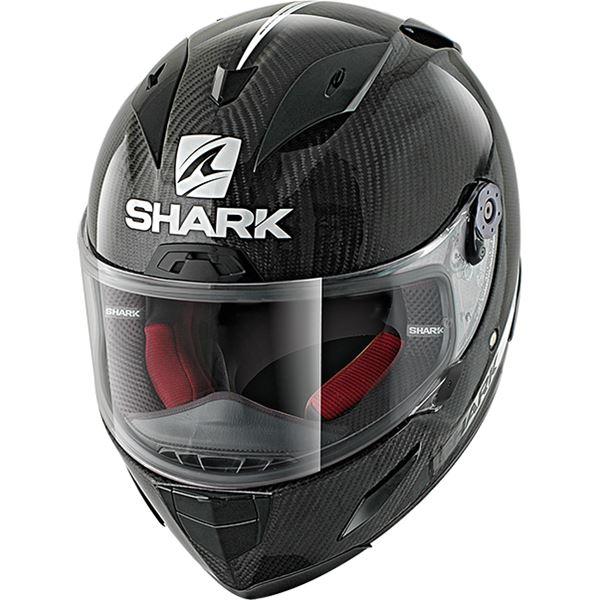 SHARK RACE-R Pro Carbon Skin Carbon-Blanc-Noir DWK