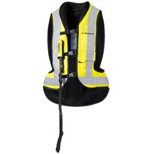 HELD Air Vest Noir-Jaune fluo