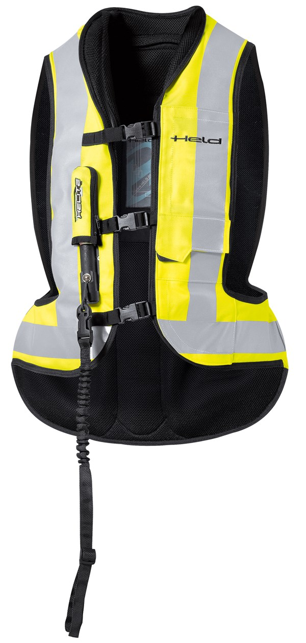 HELD Air Vest Zwart-fluo geel