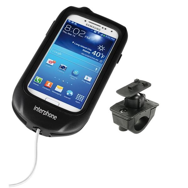INTERPHONE porteur Samsung Galaxy S4 moto