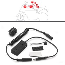 Power hub kit voor tanktassen S111