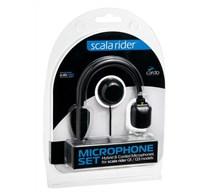 Microfoon Q-1 / Q-3 / Qz. Set van staaf- en draadmicrofoon