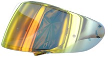 SHOEI Visière CWR-1 Spectra Orange (préparée Pinlock)