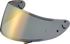 SHOEI Visière CWR-1 Spectra Or (préparée Pinlock)