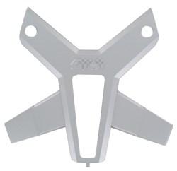 GIVI : Cover M7 plaat zilver - CM7A900