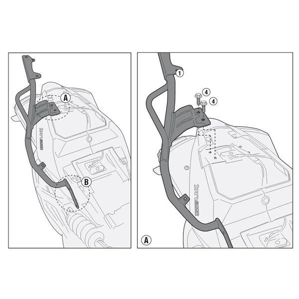 GIVI Support topcase Monolock - SR M SR8701M