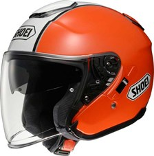 SHOEI J-Cruise Corso Oranje-Wit-Zwart TC-8