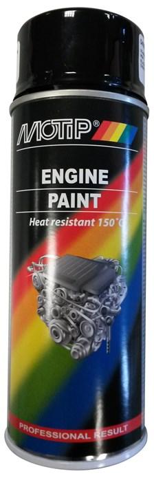 MOTIP Peinture pour bloc moteur Noir brillant