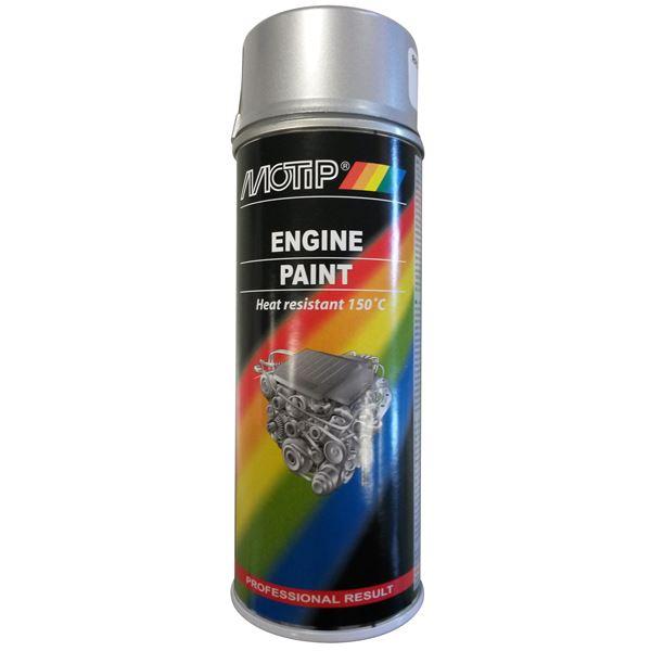 MOTIP Motorblok verf Aluminium