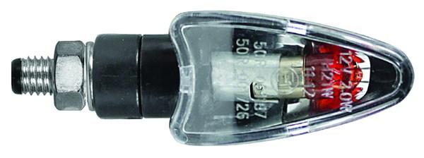 CHAFT Blaster (par paire) Noir avec lentille transparente