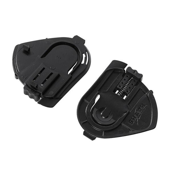 SHARK S800/S600/S650/Ridill Fixation visière Noir