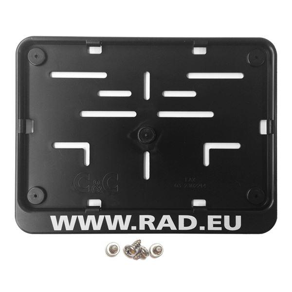 RAD Porte plaque européen Plastiek RAD