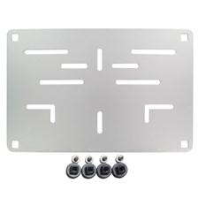 RAD Europese nummerplaathouder Aluminium