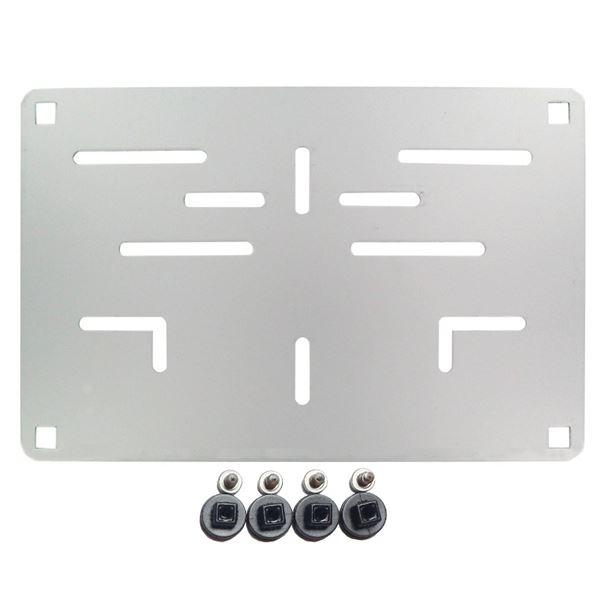RAD Porte plaque européen Aluminium