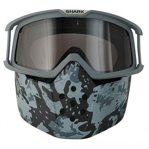 SHARK Drak/Raw Bril + masker Camo