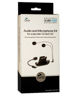 CARDO : Audio kit - G9X