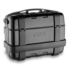 GIVI TRK33 Trekker top- of zijkoffer zwarte aluminium cover - 33 liter