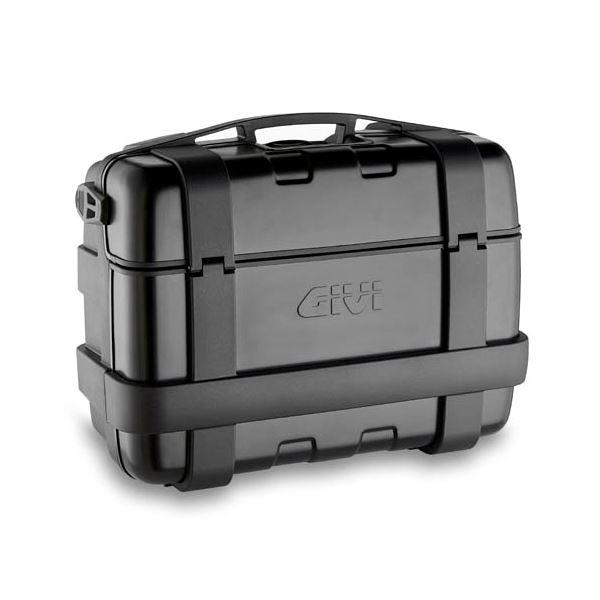 GIVI TRK33 Trekker valise ou top case 33l cache noir aluminium - 33 litre