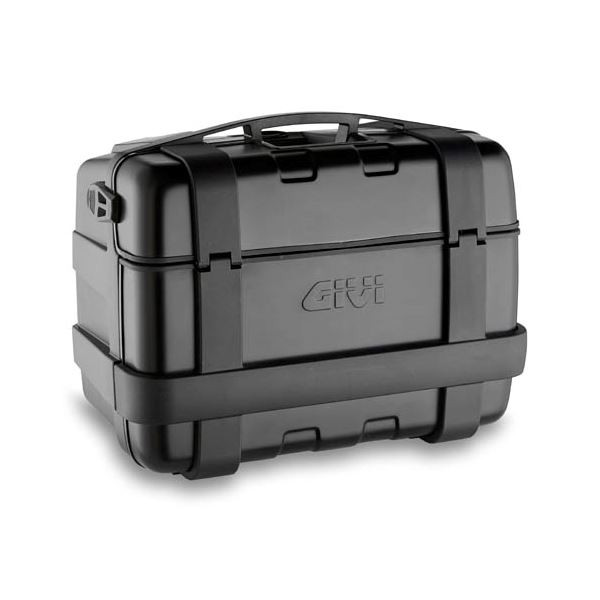 GIVI TRK46 Trekker top- of zijkoffer zwarte aluminium cover - 46 liter