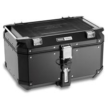 GIVI OBK58 Trekker Outback top case aluminium noir