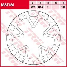 TRW Disque de frein MST466