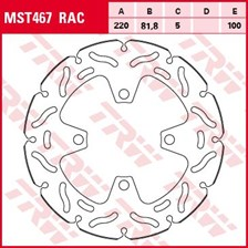 TRW Disque de frein MST467RAC