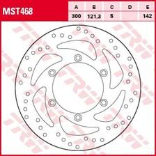 TRW MST disque de frein fixe MST468