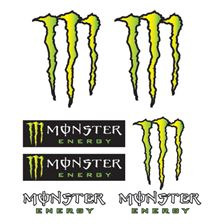 BOOSTER Stickerset Monster Monster