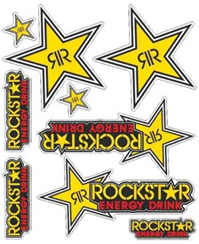 Stickerset Rockstar