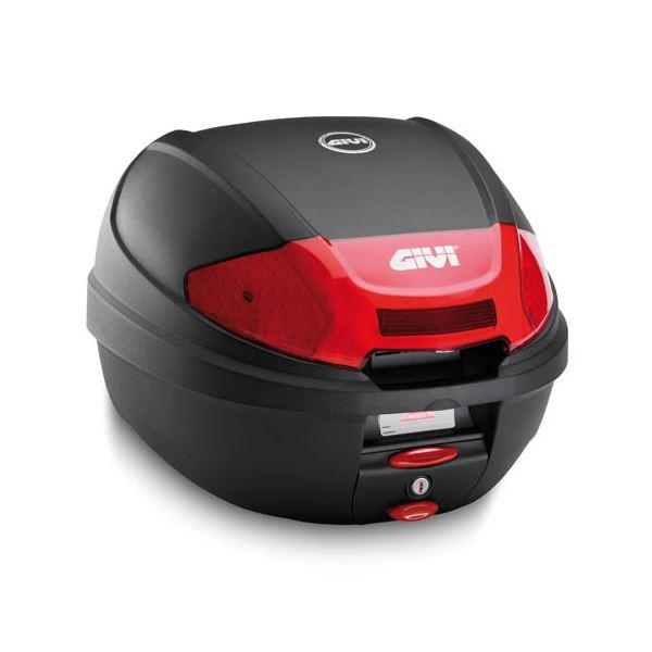 GIVI E300 topkoffer rode reflectoren