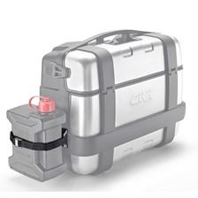 GIVI Porteur jerrycan inox pour TRK33,TRK46 E149