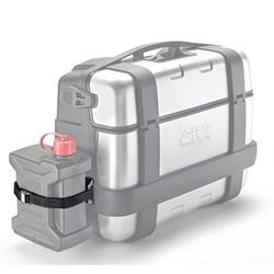 GIVI : Porteur jerrycan inox pour TRK33,TRK46 - E149