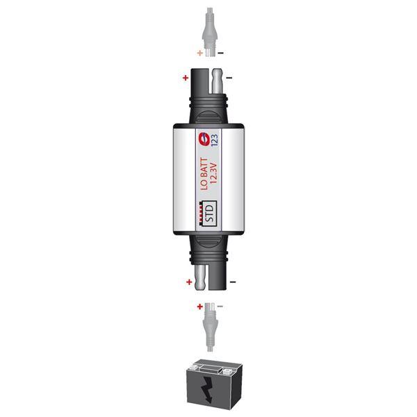 OPTIMATE O-123 avertisseur voltage batteries plomb-acide