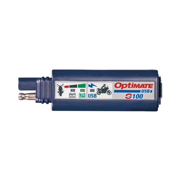 OPTIMATE O-100 chargeur USB universel SAE (connexion batterie excl.)