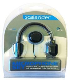 CARDO Micro G-9X Set de microphone tige et fil