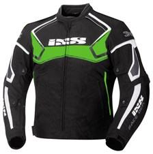 IXS Activo Noir-Vert-Blanc Hommes