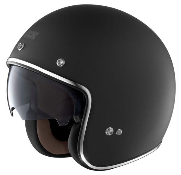 IXS HX77 Mat zwart