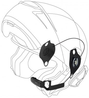 INTERPHONE Headset Shoei/Schuberth SCHUBERTH C3/PRO pro sound