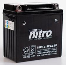 NITRO Onderhoudsvrije batterij YB9-B SEALED